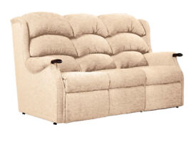 OPEN TO SENSIBLE OFFERS!!! HSL Two Seater and Three Seater Fabric Sofas