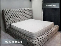 Royal chesterfield bed in all colors QZz