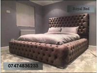 Chesterfield style big bed b