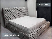 Royal chesterfield bed in all colors iiuo