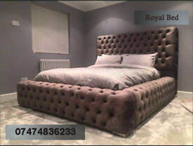 Chesterfield style big bed fip