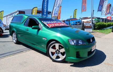 2010 Holden Ute VE MY10 SS V Green 6 Speed Sports Automatic Utility