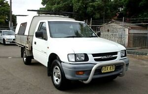 1998 Holden Rodeo TFR7 LX White 5 Speed Manual Cab Chassis Belmore Canterbury Area Preview