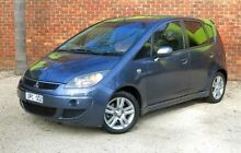 2007 Mitsubishi Colt RG MY07 VR-X Grey Constant Variable Hatchback Upper Ferntree Gully Knox Area Preview