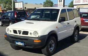 1996 Nissan Terrano RX White 5 Speed Manual Wagon Underwood Logan Area Preview