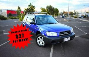 2002 Subaru Forester 79V XS Wagon 4dr Man 5sp AWD 2.5i Blue Manual Wagon South Toowoomba Toowoomba City Preview