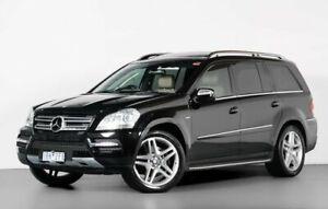 2010 Mercedes-Benz GL-Class X164 MY10 GL350 CDI Black 7 Speed Sports Automatic Wagon Port Melbourne Port Phillip Preview