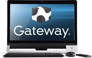 """Mint condition All-in-One Gateway Desktop 23""""Touch screen"""