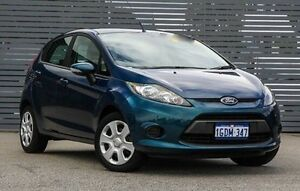 2012 Ford Fiesta WT CL PwrShift Blue 6 Speed Sports Automatic Dual Clutch Hatchback Maddington Gosnells Area Preview