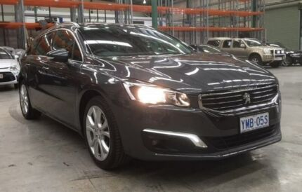 2016 Peugeot 508 MY15 Allure Touring HDi Grey 6 Speed Sports Automatic Wagon