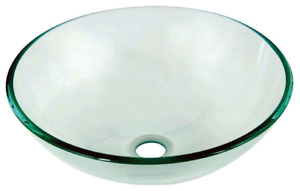 Glass sink new