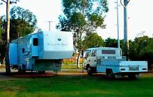 33ft 3 Slide Out 5th Wheeler and Hino Tow Vehicle Falcon Mandurah Area Preview