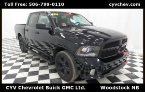 2015 Ram 1500 Express - 5.7L Hemi, Black 20 Wheels & Fog Lights