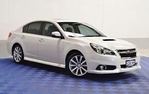 2014 Subaru Liberty MY14 2.5I GT Premium White 5 Speed Automatic Sedan Morley Bayswater Area Preview