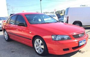 2003 Ford Falcon BA XT Red 4 Speed Automatic Sedan Woodridge Logan Area Preview