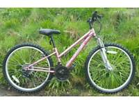 Ladies/girls bike as new