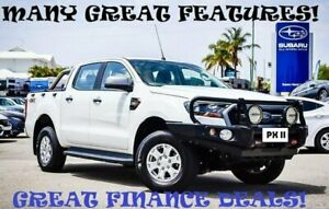 2016 Ford Ranger PX MkII XLS Double Cab White 6 Speed Sports Automatic Utility Greenfields Mandurah Area Preview