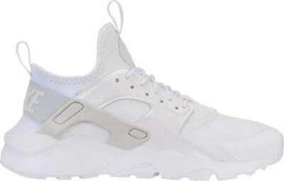 """Nike Air Huarache Ultra Trainers UK Size 4.5 EUR 37.5 """"White/Grey"""" 847568-104"""