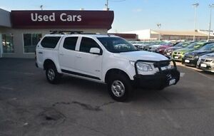 2013 Holden Colorado RG MY13 LX Crew Cab White 5 Speed Manual Utility Bayswater Bayswater Area Preview