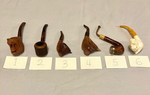 VINTAGE COLLECTION OF SMOKING PIPES
