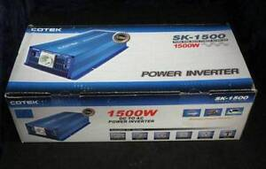 1500W TRUE SINE WAVE SOLAR INVERTER 24V, NEW