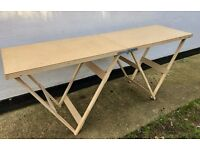 Professional MDF Fold Up Decorating table