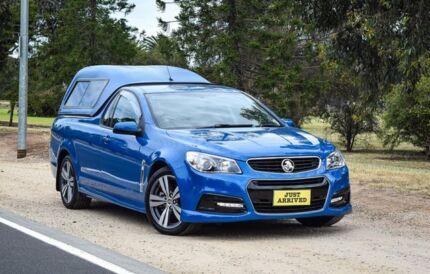 2013 Holden Ute VF MY14 SS Ute Blue 6 Speed Manual Utility