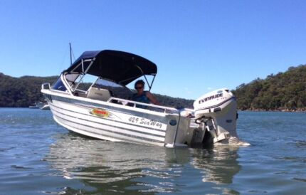 2011 Stacer 429 Sea Way Aluminium Runabout Drummoyne Canada Bay Area Preview