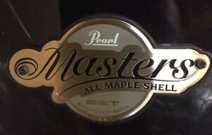 Pearl Masters MCX924SPC Piano Black shell pack NEW @ Music Park Victoria Park Victoria Park Area Preview