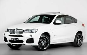 2015 BMW X4 F26 xDrive35d Coupe Steptronic White 8 Speed Automatic Wagon Port Melbourne Port Phillip Preview