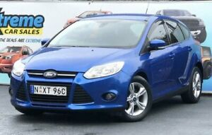 2013 Ford Focus LW MkII Trend Blue Sports Automatic Dual Clutch Hatchback