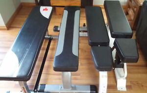 (4) Olympic Workout Weight Lifting Benches