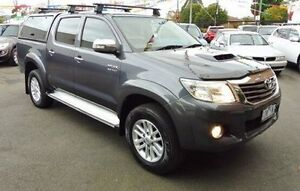 2012 Toyota Hilux KUN26R MY12 SR5 Double Cab Grey 4 Speed Automatic Utility Lilydale Yarra Ranges Preview