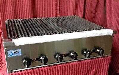 New 36 Radiant Char Broiler Lp Propane Grill Restaurant Stratus Srb-36lp 7160