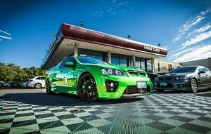 2008 Holden Special Vehicles Maloo E Series R8 Green 6 Speed Sports Automatic Utility Alfred Cove Melville Area Preview