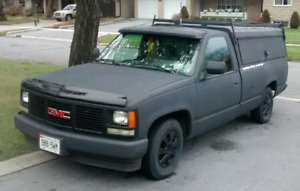1993 GMC Sierra With Contractor Cap