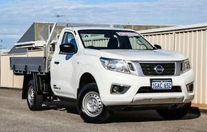 2015 Nissan Navara D23 DX 4x2 White 6 Speed Manual Cab Chassis Wangara Wanneroo Area Preview