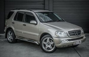 2004 Mercedes-Benz ML W163 350 Classic (4x4) Gold 5 Speed Auto Tipshift Wagon Albion Brisbane North East Preview