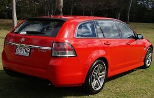 2012 Holden Commodore VE II MY12 SV6 Sportwagon Red 6 Speed Sports Automatic Wagon Bundaberg West Bundaberg City Preview