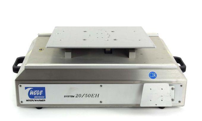 7132:Wave Biotech:20/50 EHT Rev B:Mixer/Warmer:Bioreactor System