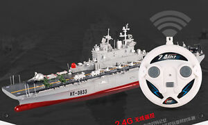 RC 2.4G 1/350 USS Wasp LHD-1 US Navy Amphibious Assault Ship NEW