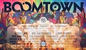 Boomtown 2018 Thurs-Sunday ticket