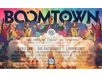 Boomtown Ticket for sale: General Admission - Available to meet in person if desired