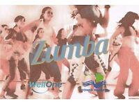 Zumba £2 per session