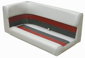 """46"""" Pontoon bench seat cushions by WISE"""