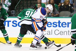 Oilers vs Stars Center Ice Club Seats  Below Face Value (Mar 14)