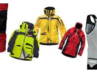 Used Wet weather sailing gear includes jacket and salopets
