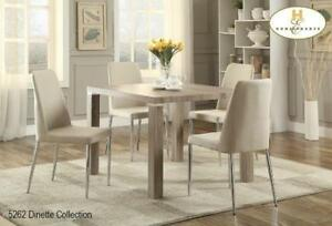 GREAT DEALS ON FORMAL OR WOODEN DINING ROOM TABLES AND MATCHING CHAIRS. (BD-1216)