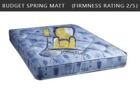 BRAND NEW 3FT, 4FT, 4FT6, 5FT SINGLE DOUBLE SMALL KINGSIZE MATTRESSES ON SALE SAME/NEXT DAY DELIVERY