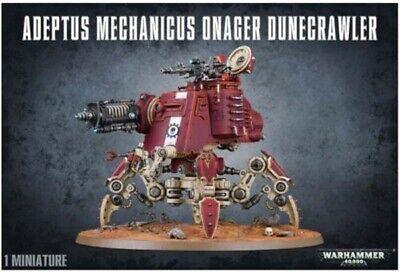 Adeptus Mechanicus Onager Dunecrawler   Warhammer 40k   New / NOS   Free Ship